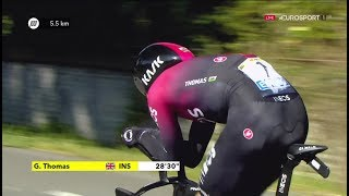 Tour de France 2019 | Stage 13 TIME TRIAL (Cycling | Eurosport HD)