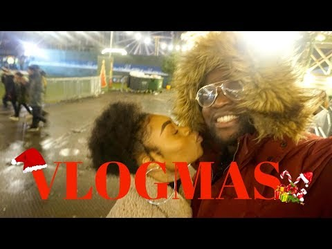 VLOGMAS DAYS 16 & 17 | HE TOOK ME TO WINTER WONDERLAND!!!! & ORS HAIRCARE CHRISTMAS EVENT!