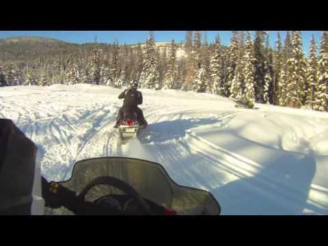 Snowmobiling Jan 1st 2013