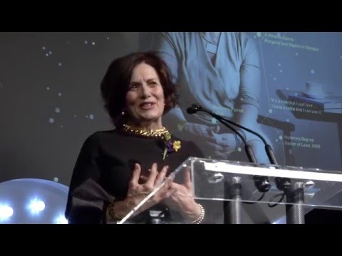 Presentation: Margaret Trudeau – Intro video followed by her very personal presentation.