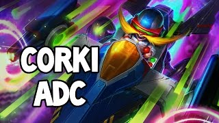 ARCADE CORKI ADC GAMEPLAY - League of Legends