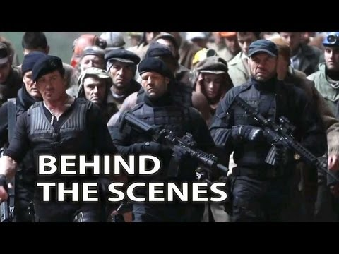The Expendables 2 Behind the Scenes Trailer