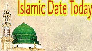 Islamic date today| Islamic calendar 2019 | chand ki tareekh