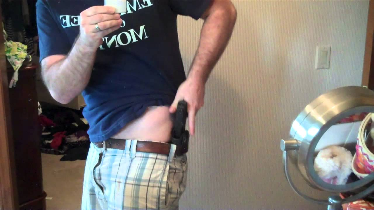 My Favorite Concealed Carry Holster For The Springfield XDS - YouTube