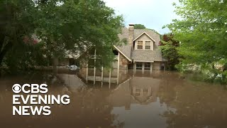 Homes underwater as catastrophic flooding hits Arkansas