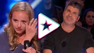 'This Is For My Dad' Evie Clair Sings A Song For Her Dad Battling Cancer   America's Got Talent