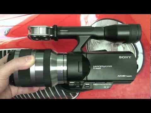 Sony NEX-VG20 Handycam Initial Impressions by The Digital Digest