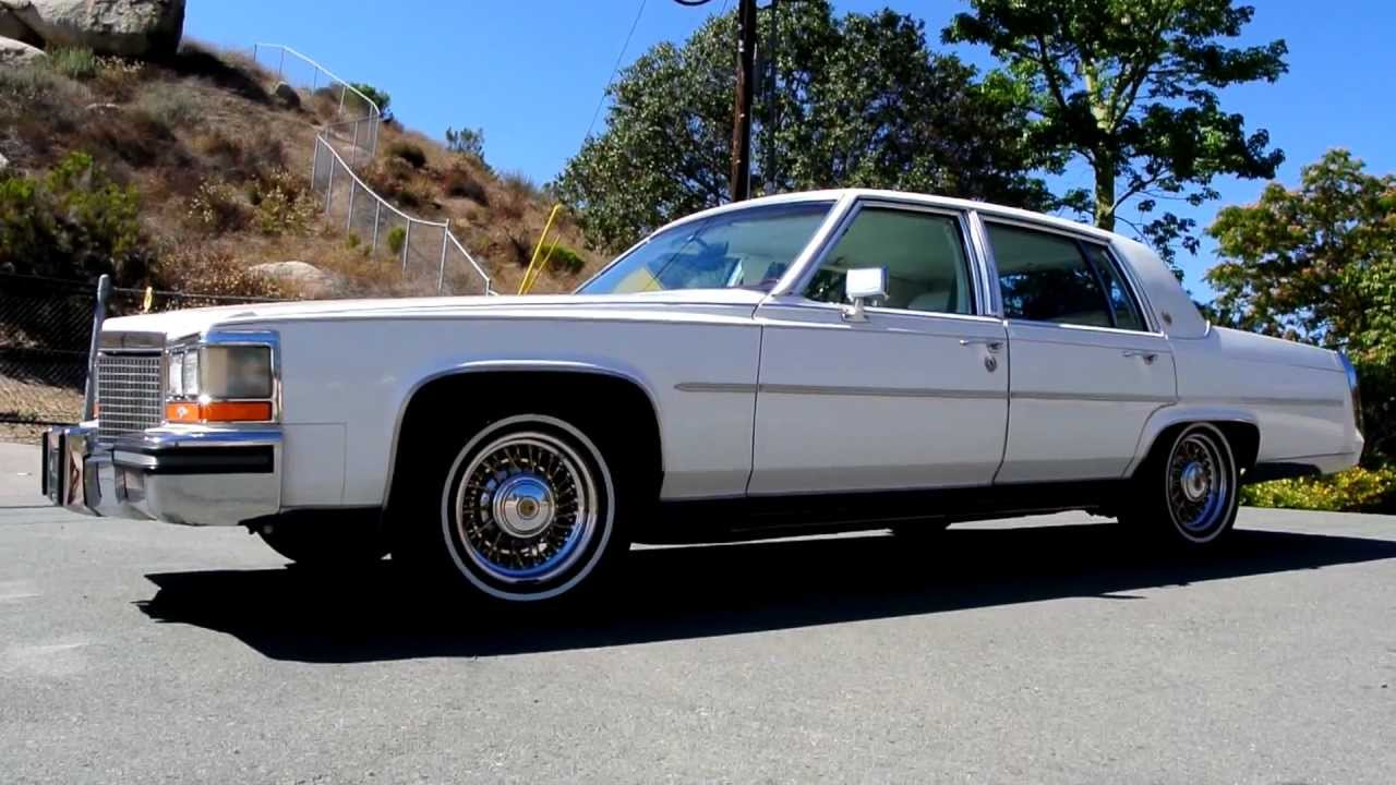 Cadillac Fleetwood Brougham For Sale Cadillac Fleetwood Brougham 1 Owner 73,000 Orig Miles McLean Wire Tru ...