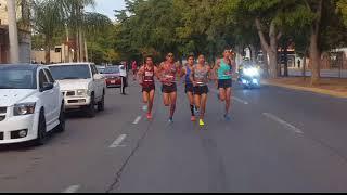 Medio Maraton Internacional de Culiacan 2018  Video 1 hup hup!!