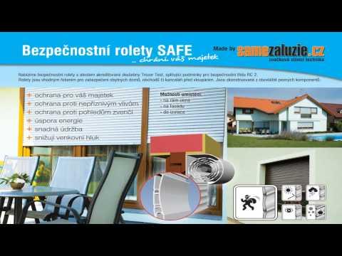 Video Bezpečnostní rolety SAFE