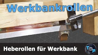 Rollen für Werkbank nachrüsten #absenkbar