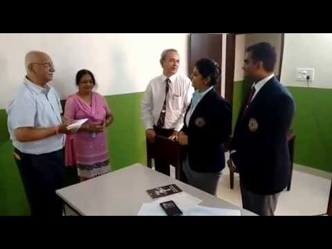 CSR activity by students of Jindal School of Hotel Management
