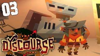 """Dyscourse Gameplay Ep 03 - """"Secret Underground BUNKER!!!"""""""