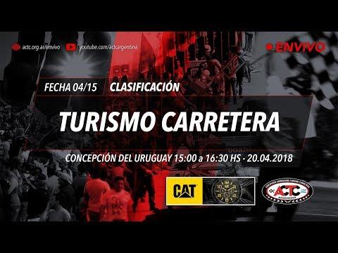 04-2018) C. del Uruguay: Viernes Clasificación TC