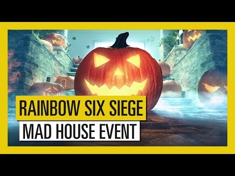 "Tom Clancy's Rainbow Six Siege : Time-limited ""Mad House"" Halloween Event"