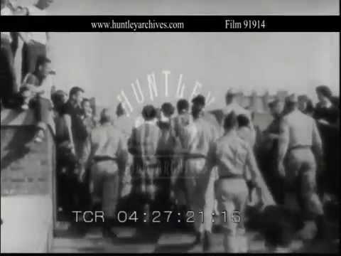 The Little Rock Nine.  Archive film 91914