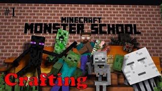 Monster School-tập 2: Làm Bánh Su Kem | Phim Minecraft Lớp Học Quái Vật | Hero