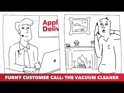 Funny Customer Call: The Vacuum Cleaner