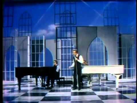 Elton John, Ray Charles and Cass Elliot Unite, 1970