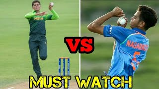Shaheen Shah VS Kamlesh Nagarkoti || Who is best Bowler ||