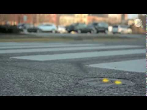 Pedestrian Crosswalk Safety by LaneLight