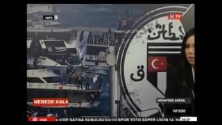 Beşiktaş TV Patlama Anı!   Vodafone Arena
