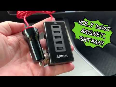 Install A 12V USB Hub In Tesla Model 3 To Free Up Your USB Ports For V9 Dashcam And Music