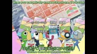 Keroro Gunso: Opening 1 - Kero to March [ENG SUB] [HD]