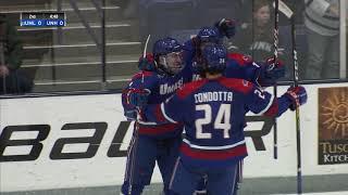 UNH Men's Hockey Vs UMass Lowell Highlights (2-29-20)