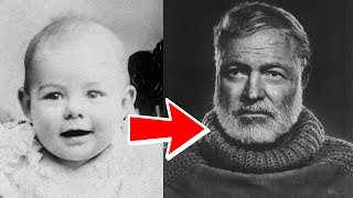 Ernest Hemingway from 1 to 61 years old