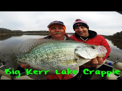 Kerr Lake Crappie Fishing