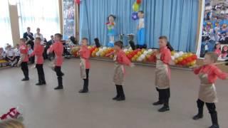 Танец мальчиков Во кузнице на празднике День знаний