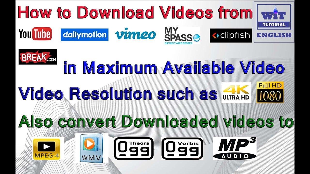 Скачать как видео с vimeo на компьютер без программ