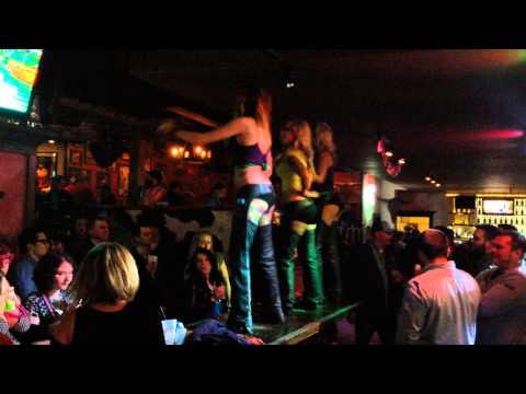 Mari Gras in Louisville Kentucky, 4th Street Live, PBR's