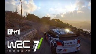 WRC 7 - PC Gameplay - Volkswagen Polo R WRC - Mexico - media luna EP#1