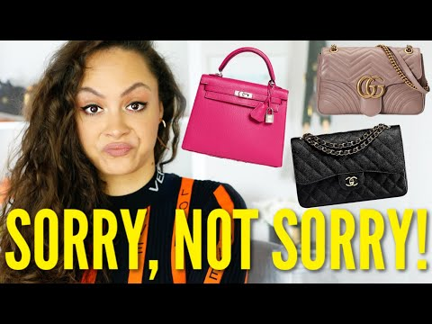 POPULAR designer bags I'll NEVER BUY! *IT'S A NO FROM ME*