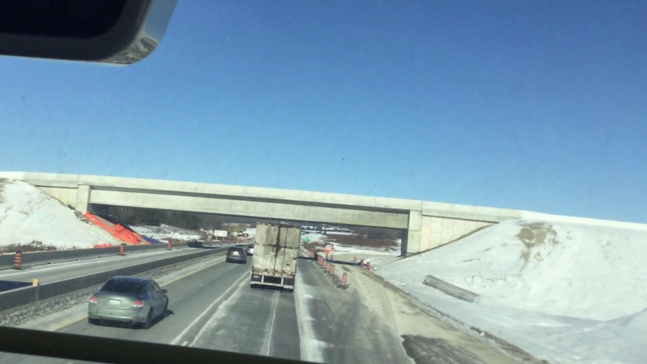 Highway 35/115 & 407 Interchange Construction Update (Northbound) -  November 22, 2018