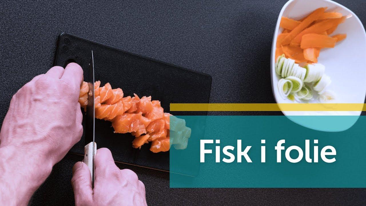 Fisk I Folie På Bål Youtube