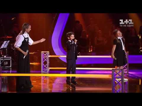 Rafaelle, Katrina-Paula, Darya - Papaoutai ,Voice Kids UA 2016