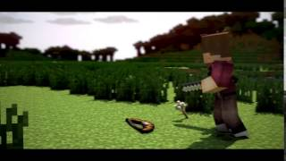 Free 3D Minecraft Animation Sync Intro Template 2016 AE + C4D