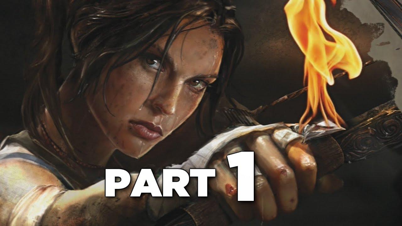 Tomb Raider Definitive Edition Gameplay Walkthrough Part 1 Ps4