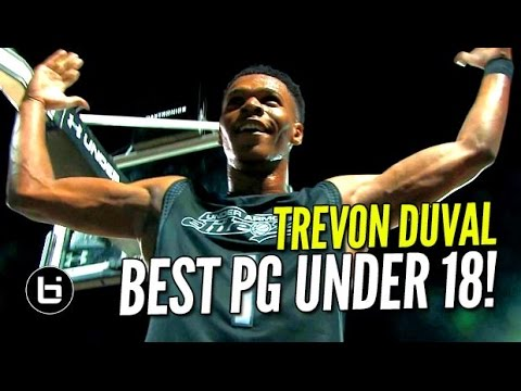 Trevon Duval The BEST High School Point Guard In The World!? The Next Kyrie Irving!?