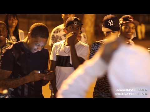 Lil Durk in French Montana's Mott Haven Projects Bronx, NY