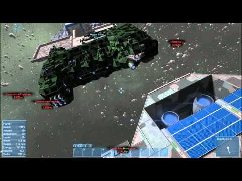 Space Engineers: Hammerhead Heavy Frigate and Anvil Cruiser