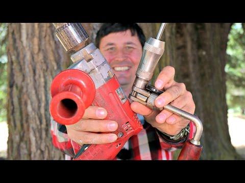 Hand Drill vs Power Drill - Speed Race