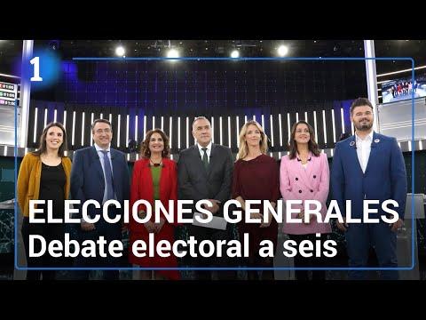Elecciones generales 2019: debate electoral a seis en RTVE