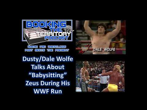 Dusty Wolfe talks about running the roads with Tiny Lister aka Zeus in WWF