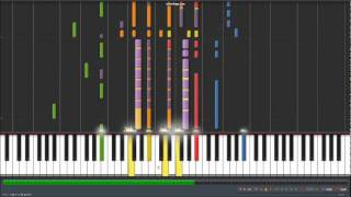 The four tops - Reach out (I´ll be there) Synthesia