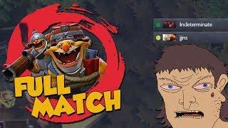 Angry Aggressive Australian Doto - DotA 2 Techies Full Match
