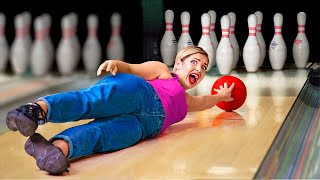 18 Funny and Awkward Moments / Types of People at the Bowling Alley